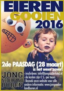 Eiergooien, 2e Paasdag!! (Maandag 28 maart, 2016)